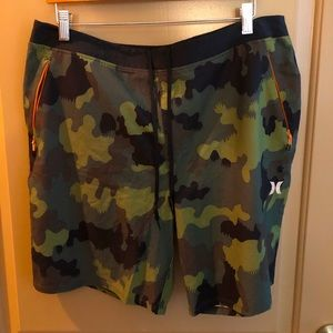 Hurley Mens Camo Board Shorts